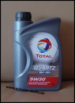 Total Quartz Ineo MC3 5W-30 (MB 229.52/Dexos2 ™)
