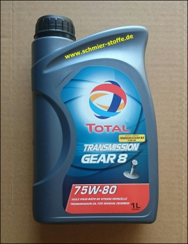 Total Transmission Gear8/75W-80 (Getriebeöl PSA)