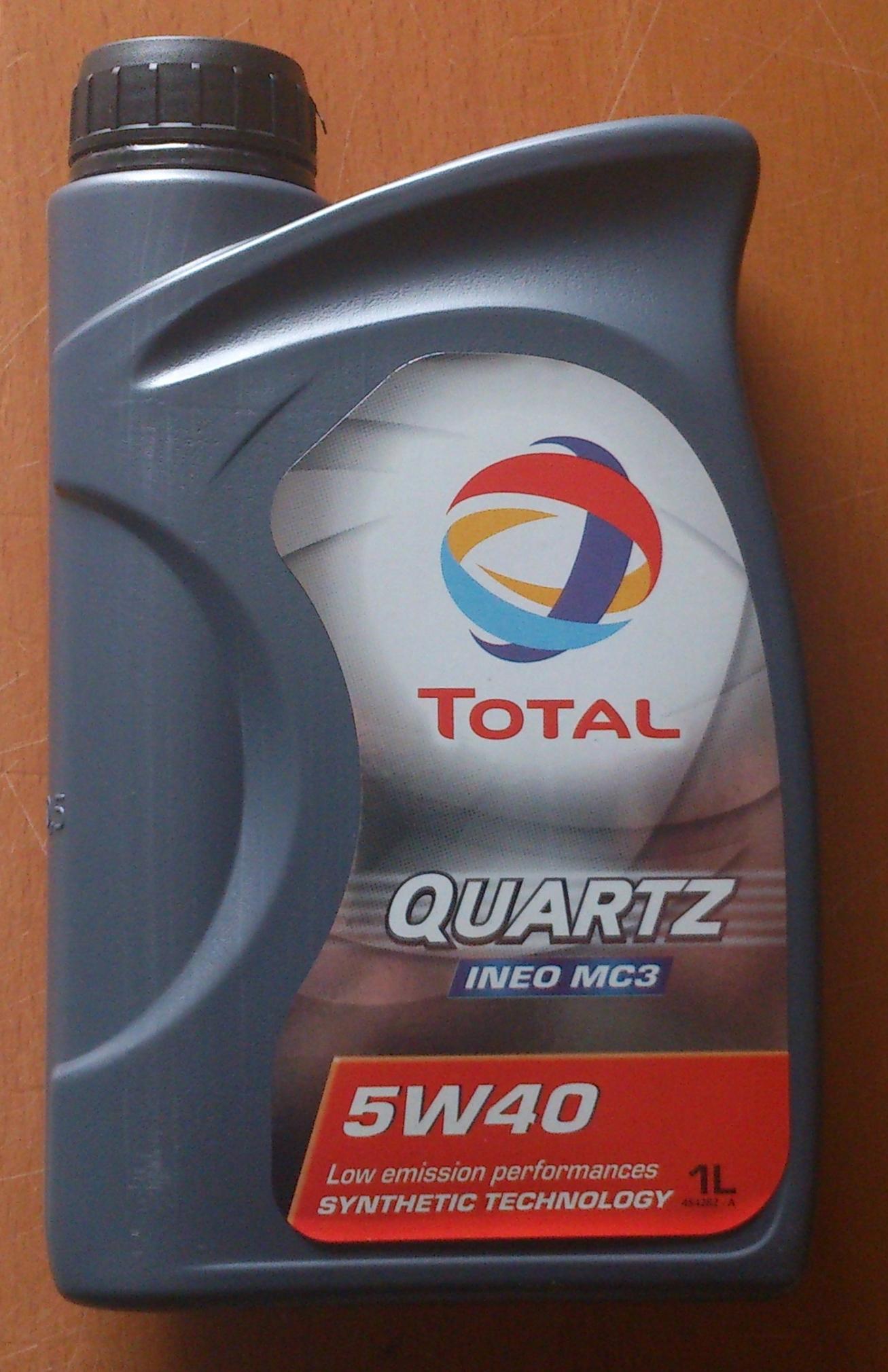 Motor l in premium qualit t total quartz ineo mc3 5w 40 for Total quartz motor oil